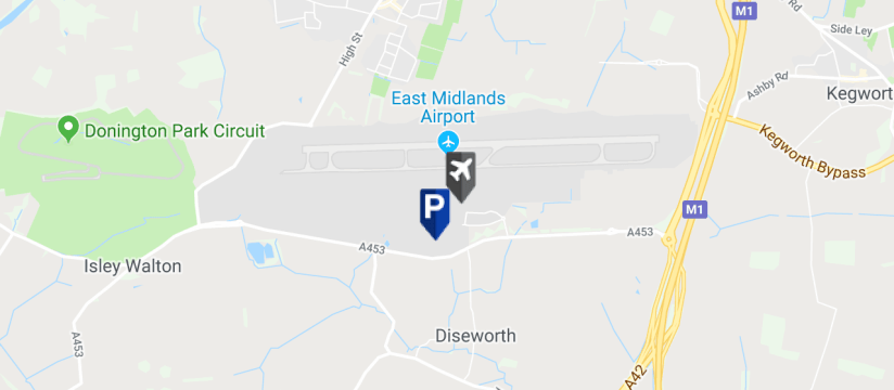 East Midlands Airport Mid Stay 2, East Midlands Airport map