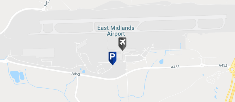 East Midlands Airport Short Stay 3, East Midlands Airport map