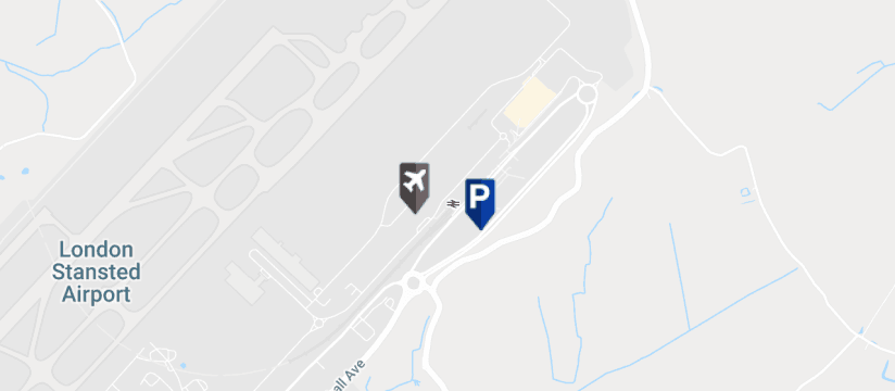 I Love Meet and Greet , Stansted Airport map