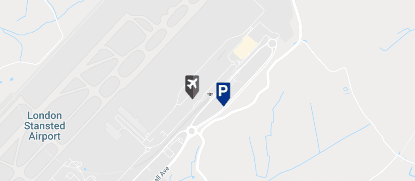 I Love Meet and Greet Valet, Stansted Airport map