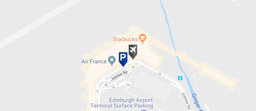 Maple Parking Edinburgh Meet & Greet, Edinburgh Airport map